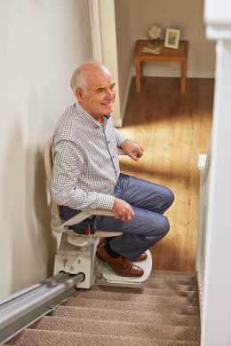 Stairlift Rental in Rush Green